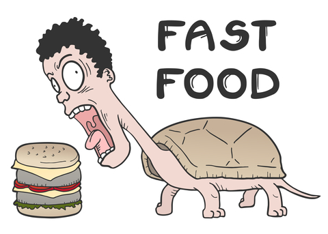 How Do You Make A Turtle Fast? Take Away Its Food  – Retail